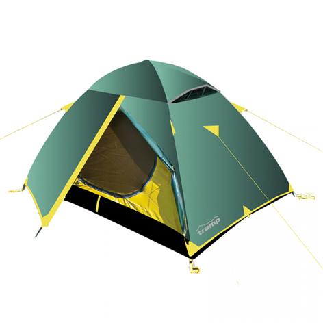 Tramp палатка Scout 2 (V2) (зеленый), 250(Д)x220(Ш)x120(В) купить в Симферополе