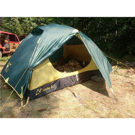 Tramp палатка Nishe 2 (V2) (зеленый), 290(Д)x220(Ш)x120(В) купить в Симферополе