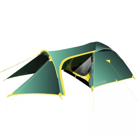 Tramp палатка Grot 3 (V2) (зеленый), 490(Д) х 220(Ш) х 130(В) купить в Симферополе