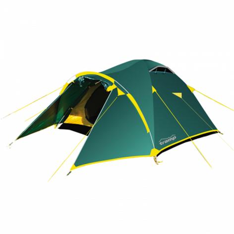 Tramp палатка Lair 3 (V2) (зеленый), 370(Д) х 220(Ш) х 130(В) купить в Симферополе