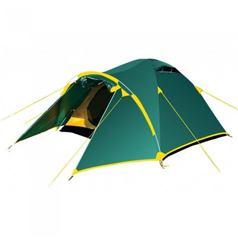 Tramp палатка Stalker 4 (V2) (зеленый), 410(Д) х 220(Ш) х 140(В) купить в Симферополе
